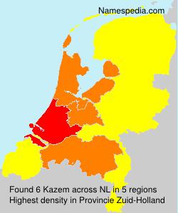 Surname Kazem in Netherlands