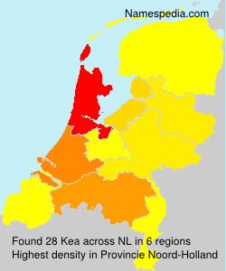 Surname Kea in Netherlands