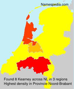 Surname Kearney in Netherlands