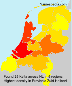 Surname Keita in Netherlands