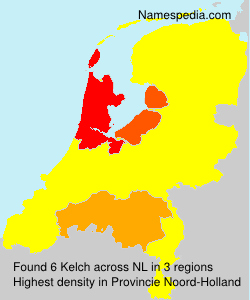 Surname Kelch in Netherlands