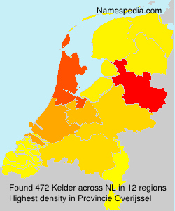 Surname Kelder in Netherlands