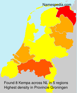 Surname Kempa in Netherlands