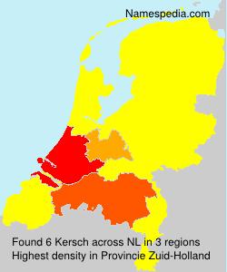 Surname Kersch in Netherlands
