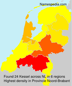 Surname Kessel in Netherlands