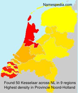 Surname Kesselaar in Netherlands