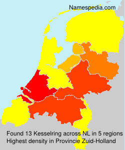 Surname Kesselring in Netherlands