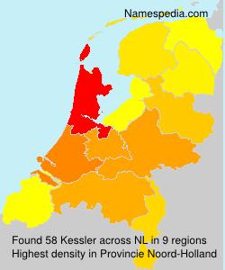 Surname Kessler in Netherlands