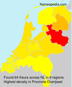 Surname Keurs in Netherlands