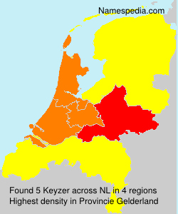Surname Keyzer in Netherlands