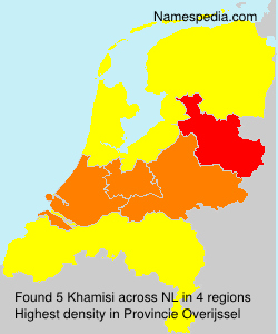 Surname Khamisi in Netherlands
