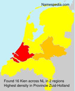 Surname Kien in Netherlands