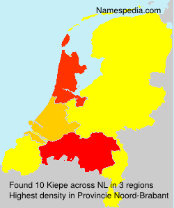 Surname Kiepe in Netherlands