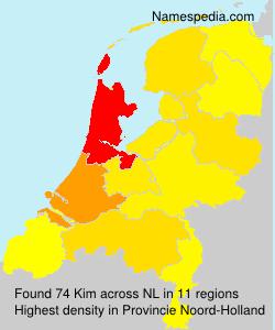 Familiennamen Kim - Netherlands