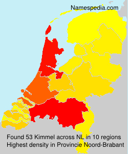 Surname Kimmel in Netherlands
