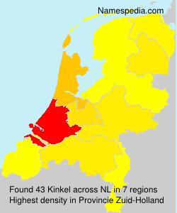 Familiennamen Kinkel - Netherlands
