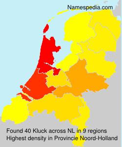 Surname Kluck in Netherlands