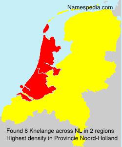 Surname Knelange in Netherlands