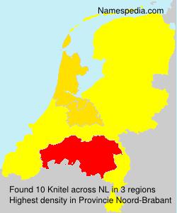Surname Knitel in Netherlands