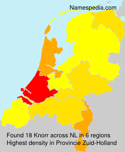 Surname Knorr in Netherlands