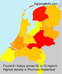 Surname Kobus in Netherlands