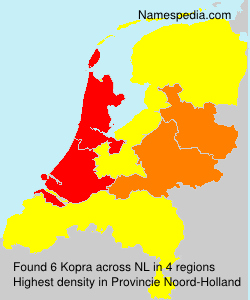 Surname Kopra in Netherlands