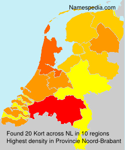 Surname Kort in Netherlands