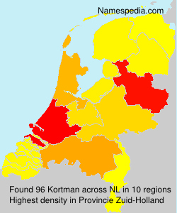 Surname Kortman in Netherlands