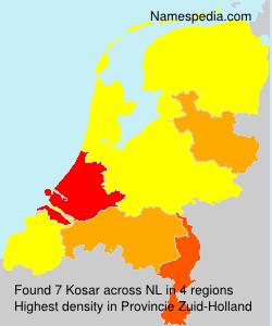 Surname Kosar in Netherlands
