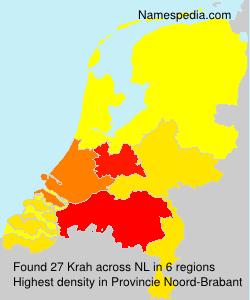Surname Krah in Netherlands