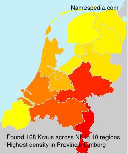 Familiennamen Kraus - Netherlands