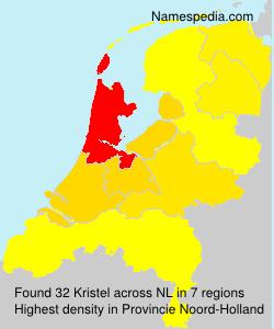 Surname Kristel in Netherlands