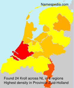 Familiennamen Kroll - Netherlands