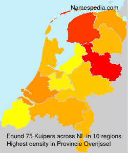 Surname Kuipers in Netherlands