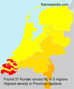 Surname Kunder in Netherlands
