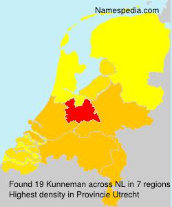 Surname Kunneman in Netherlands