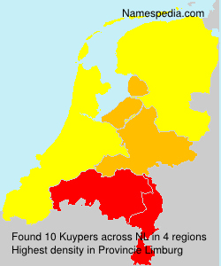 Surname Kuypers in Netherlands