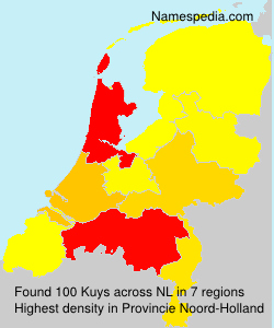 Surname Kuys in Netherlands