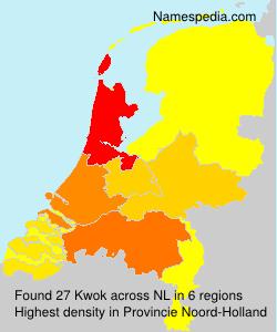 Surname Kwok in Netherlands