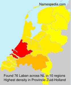 Surname Laban in Netherlands