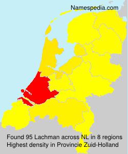 Familiennamen Lachman - Netherlands