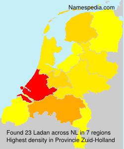Familiennamen Ladan - Netherlands