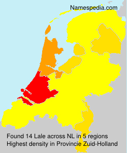 Surname Lale in Netherlands