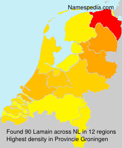 Surname Lamain in Netherlands