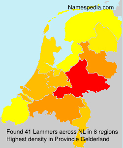 Surname Lammers in Netherlands