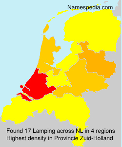 Surname Lamping in Netherlands