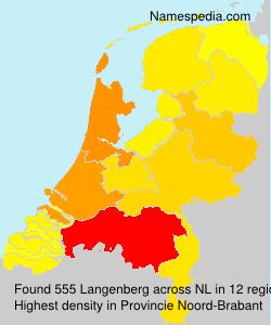 Surname Langenberg in Netherlands