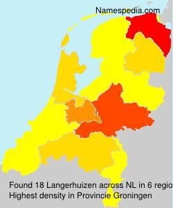 Surname Langerhuizen in Netherlands