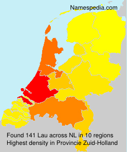 Surname Lau in Netherlands