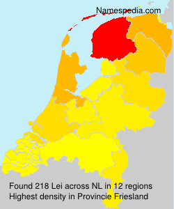 Surname Lei in Netherlands
